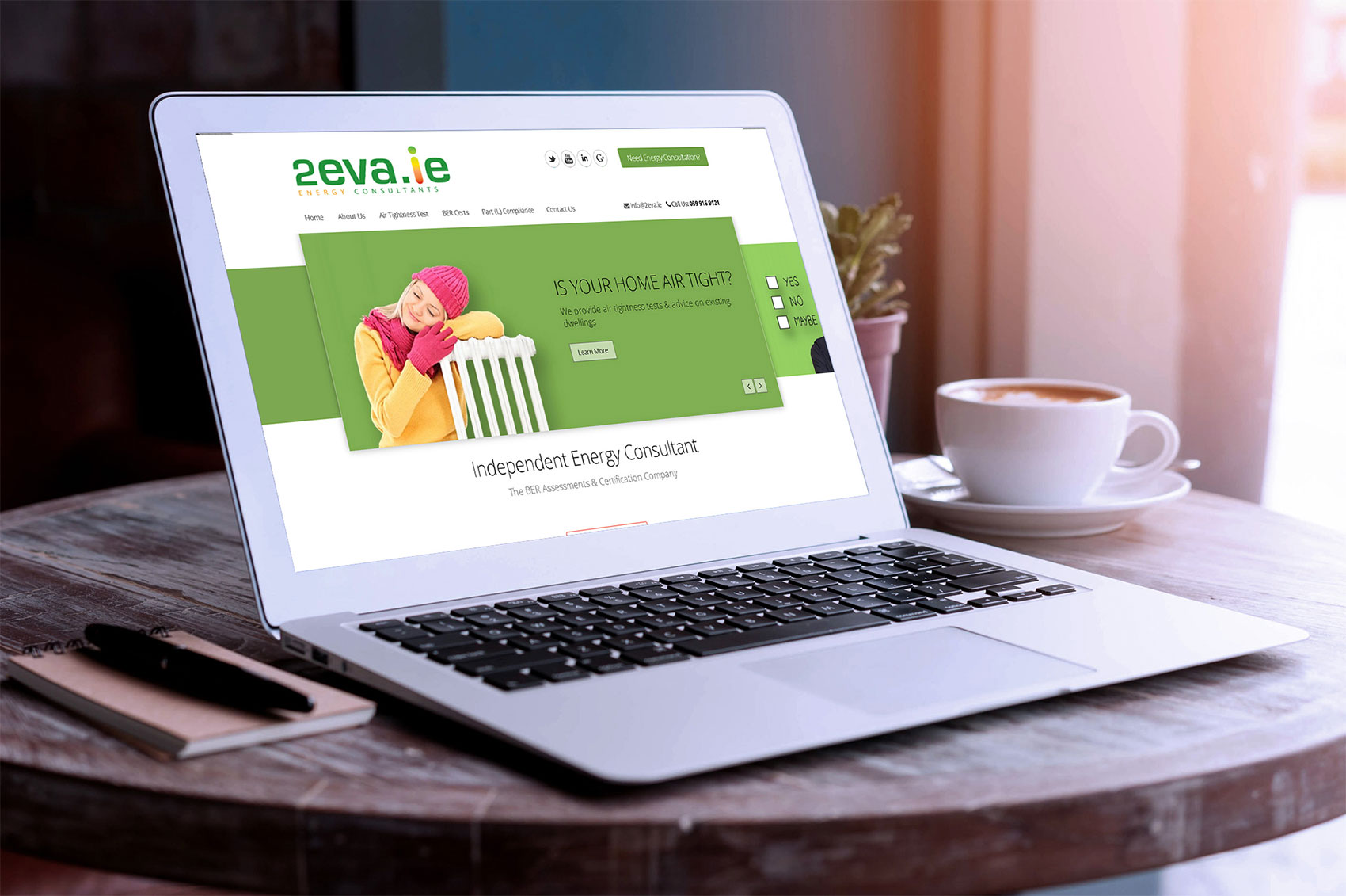 Website wordpress theme design