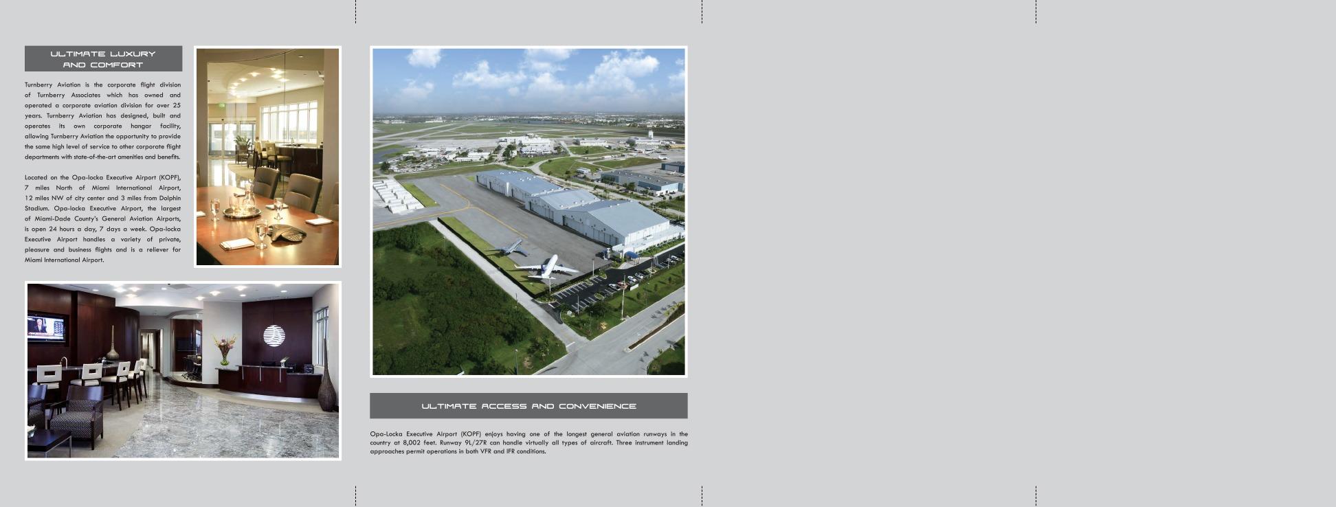 Turnberry Aviation Brochure