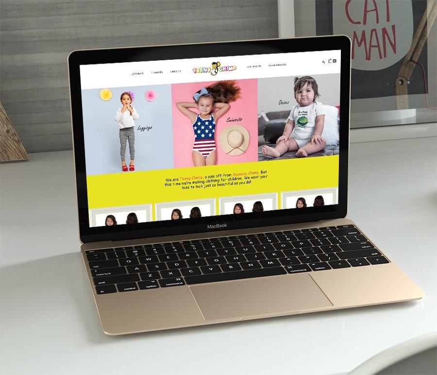 Teeny Chimp Woocommerce Web Design